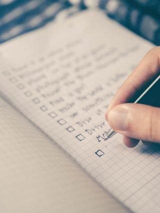 Waarom je altijd met een checklist moet werken bij een verhuizing